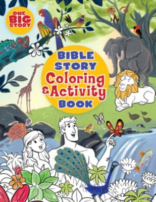 - Bible Story Coloring And Activity Book - LifeWay