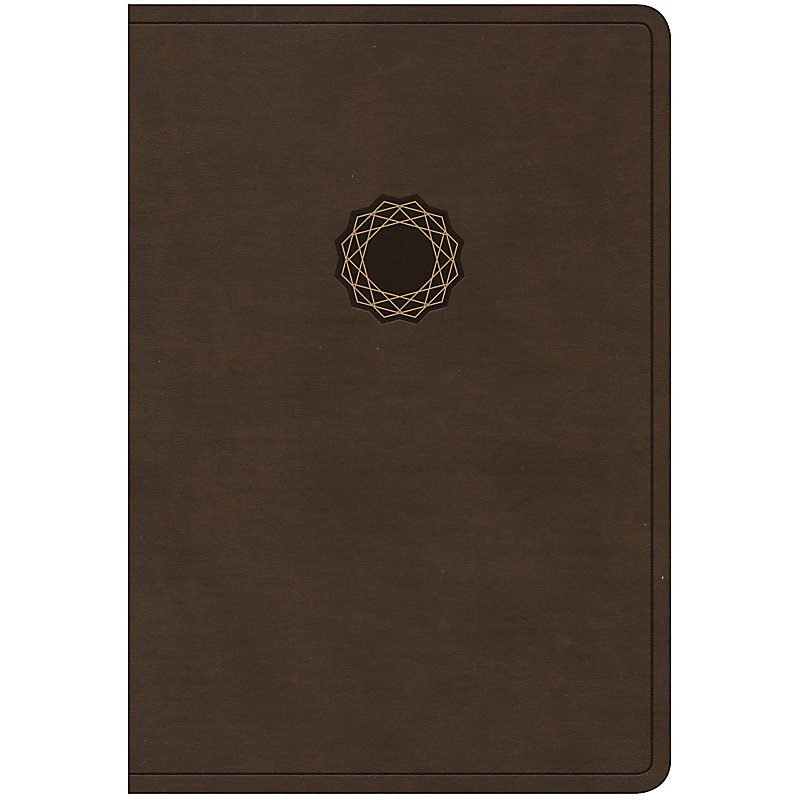 NKJV Deluxe Gift Bible, Brown/Tan LeatherTouch