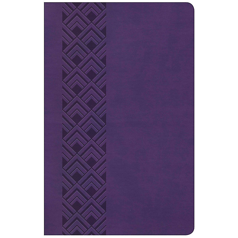 KJV Ultrathin Reference Bible, Value Edition, Purple LeatherTouch