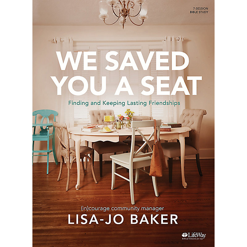 We Saved You a Seat - Bible Study eBook