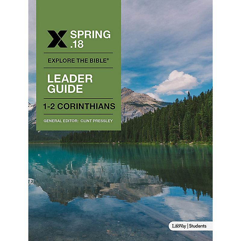 Explore the Bible: Students Leader Guide - KJV - Spring 2018