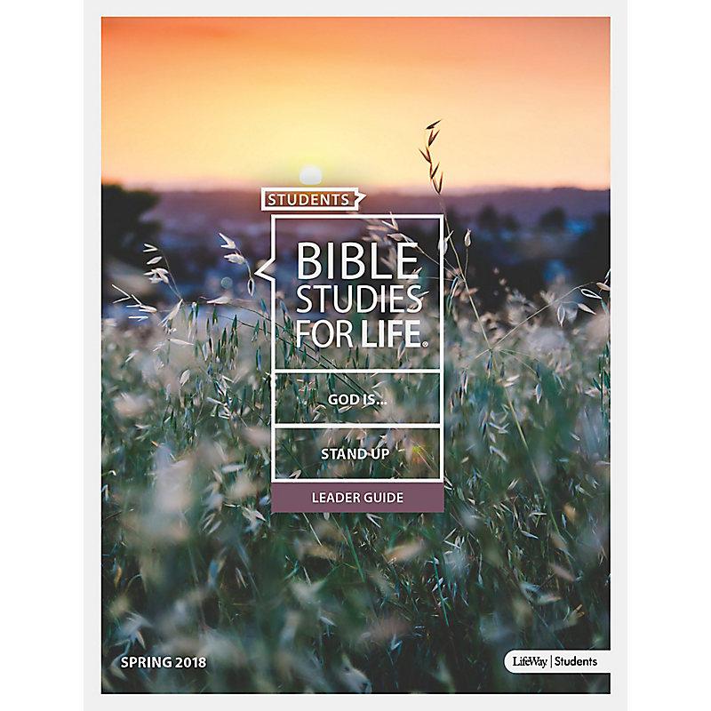 Bible Studies for Life: Students Leader Guide - KJV - Spring 2018
