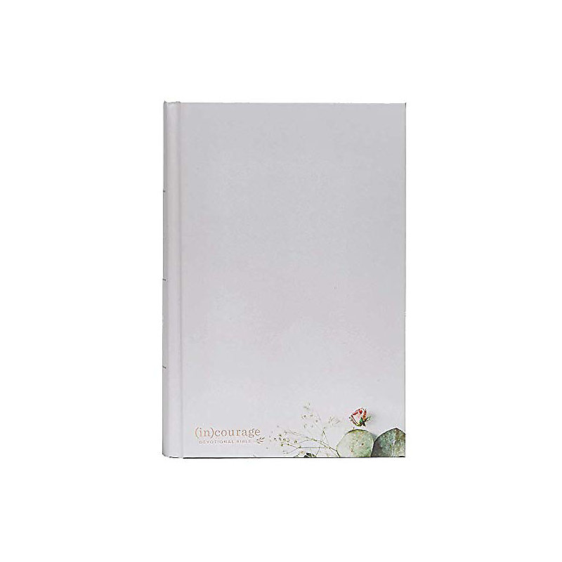 CSB (in)courage Devotional Bible, Gray Hardcover
