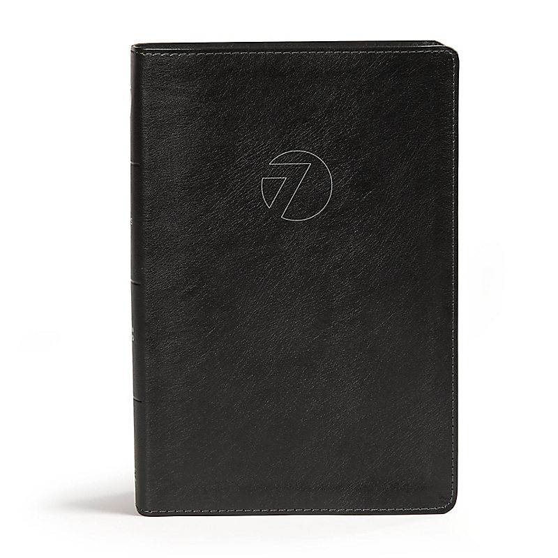 CSB Seven Arrows Bible, Black LeatherTouch