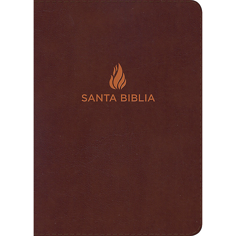 RVR 1960 Biblia Letra Súper Gigante marrón, piel fabricada