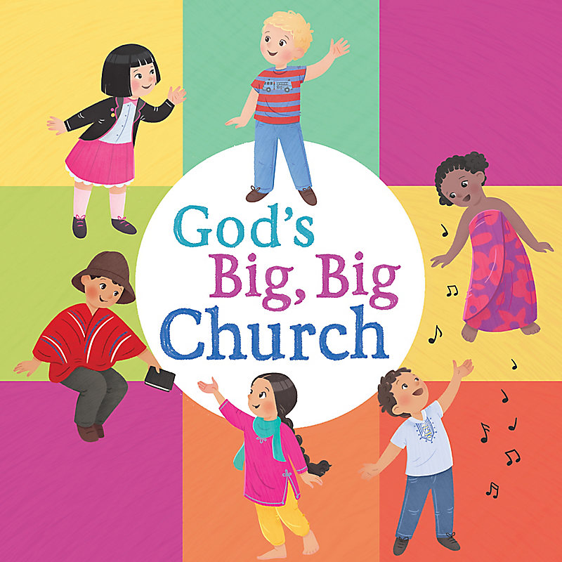 God's Big, Big Church (board book)