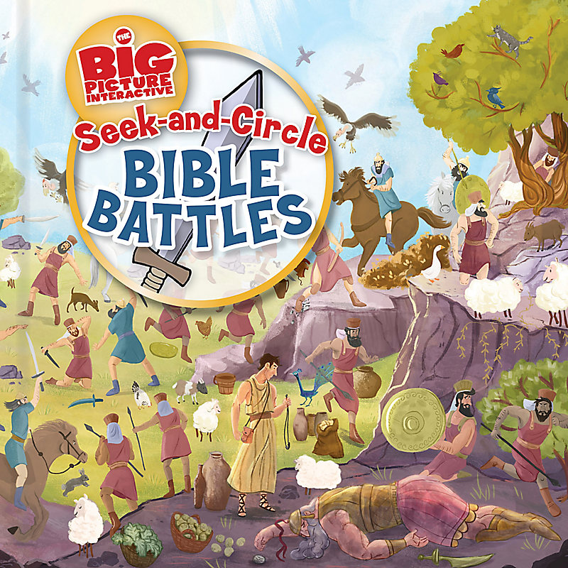Seek-and-Circle Bible Battles