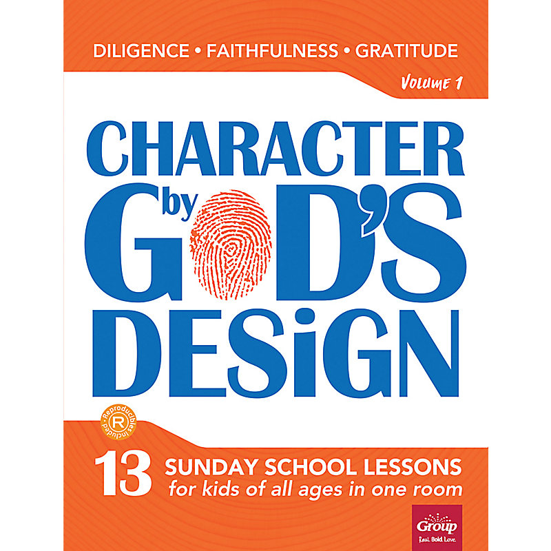 Character by God's Design: Volume 1