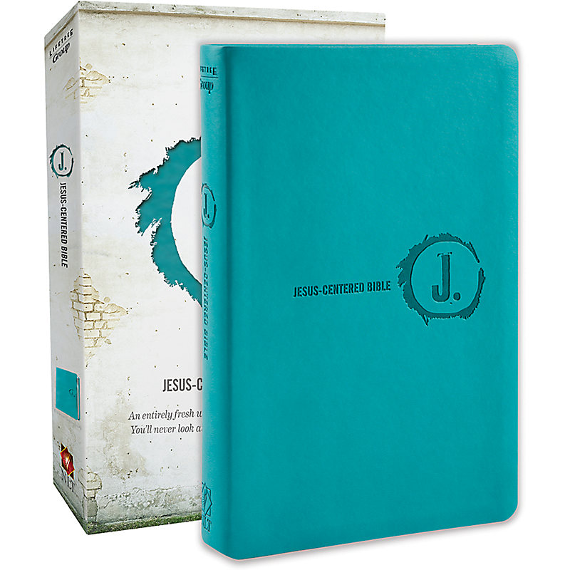 NLT Jesus-Centered Bible, Turquoise