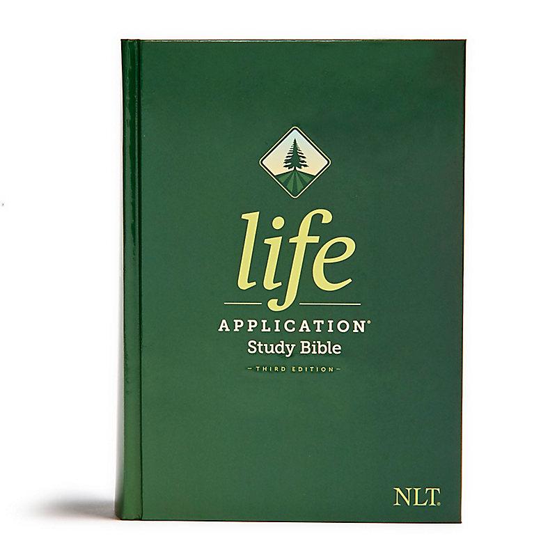 NLT Life Application Study Bible, Third Edition, Hardback