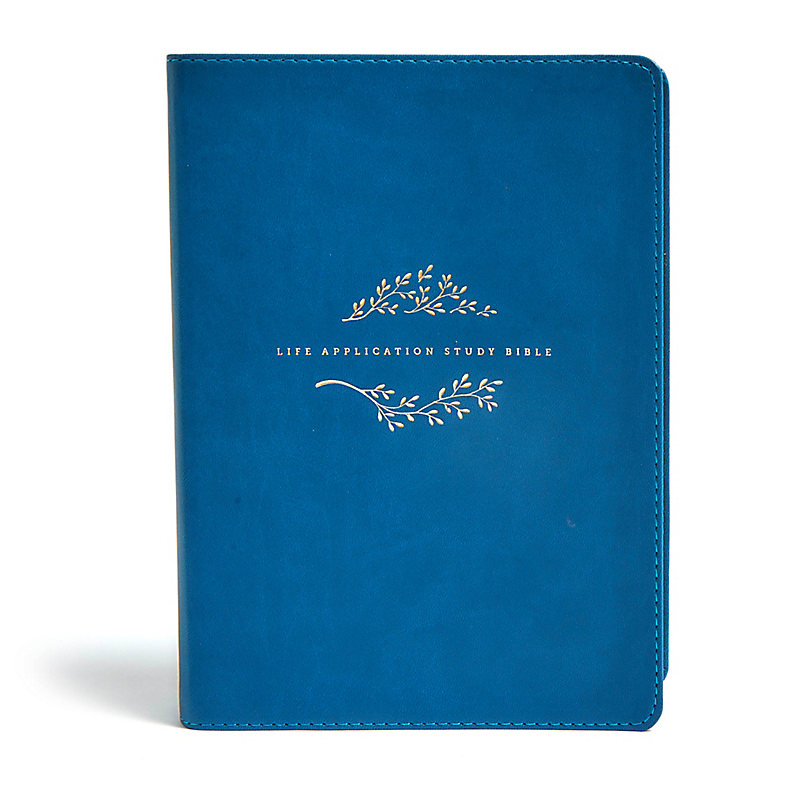 NLT Life Application Study Bible, Third Edition, Simulated Leather, Teal