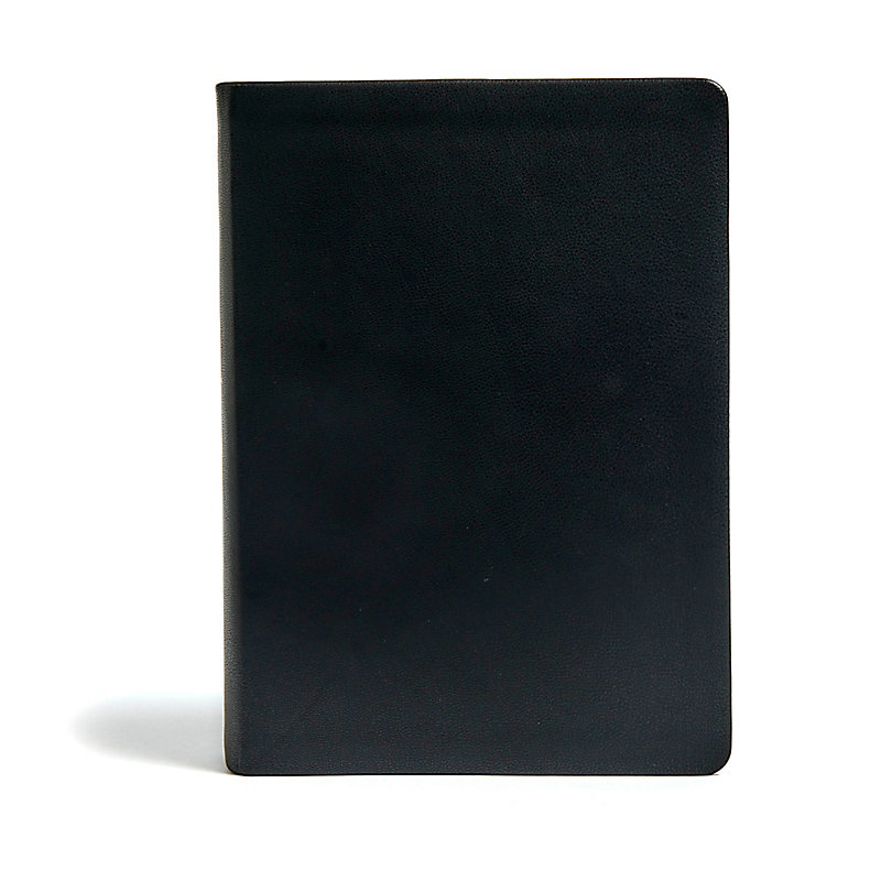 NLT Life Application Study Bible, Third Edition, Genuine Leather, Black