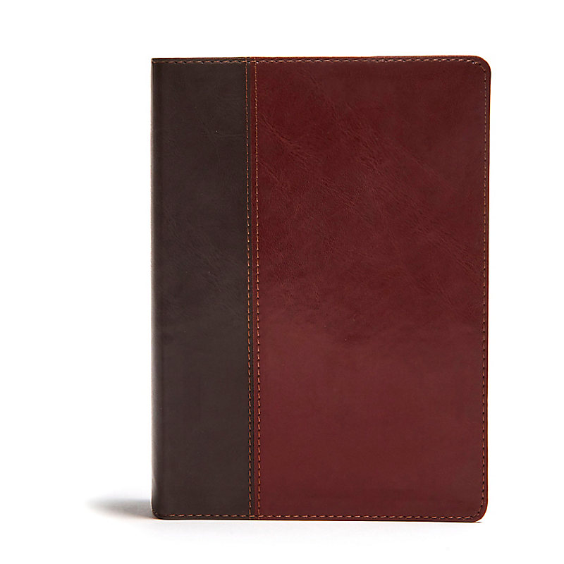 NLT Life Application Study Bible, Third Edition, Red Letter, Simulated Leather, Brown/Mahogany