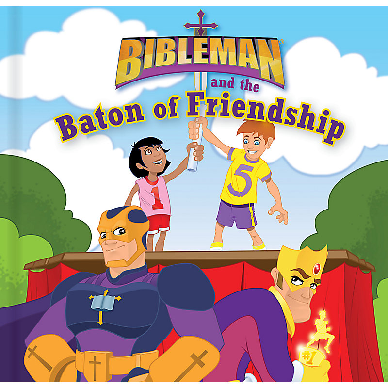 Bibleman and the Baton of Friendship (board book)