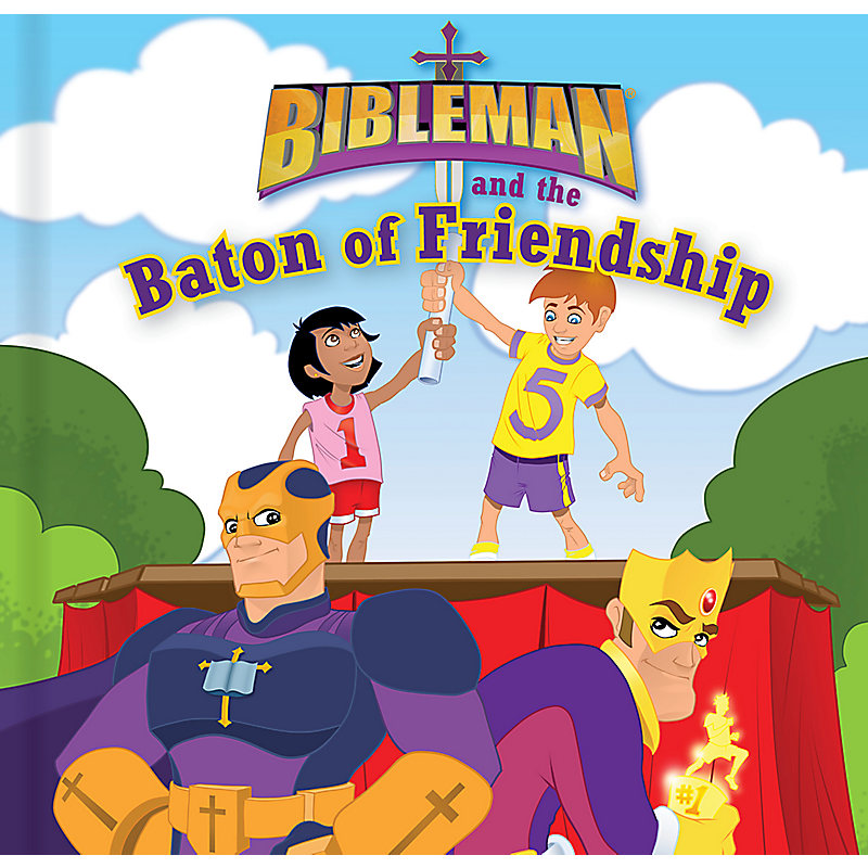 Bibleman and the Baton of Friendship, epub