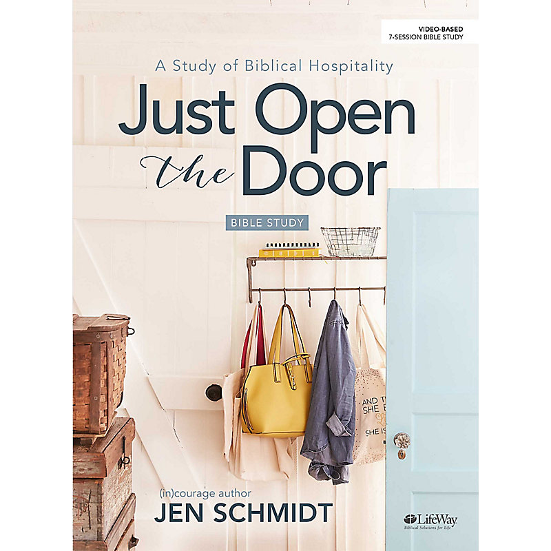 Just Open the Door - Bible Study eBook
