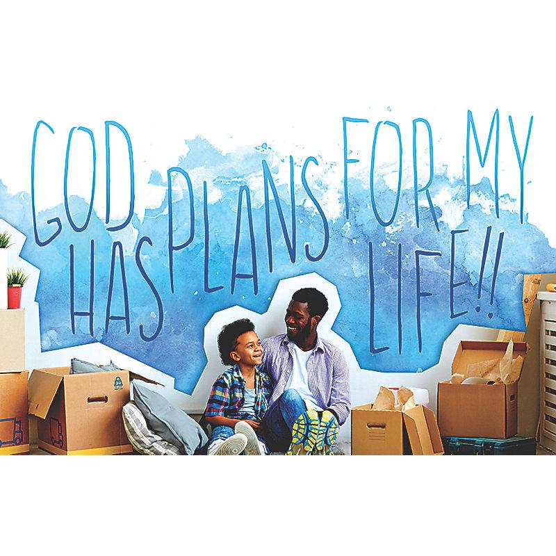 Bible Studies for Life: Kids God Has Plans Postcard Pkg 25