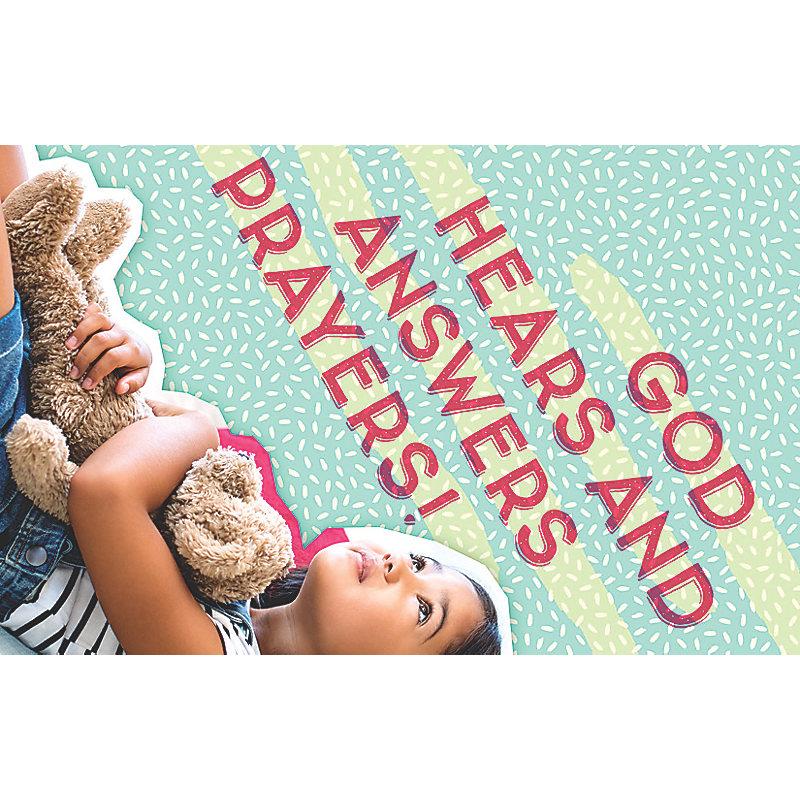 Bible Studies for Life: Kids Pray Postcard Pkg 25