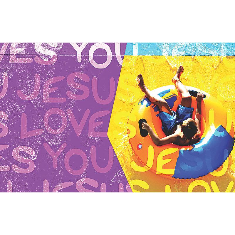 Bible Studies for Life: Kids Jesus Love You Postcard Pkg 25