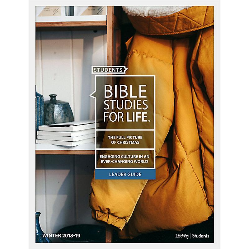 Bible Studies For Life: Student Leader Guide NIV Winter 2019 e-book