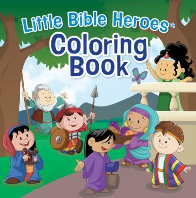 Little Bible Heroes™ Coloring Book - Lifeway