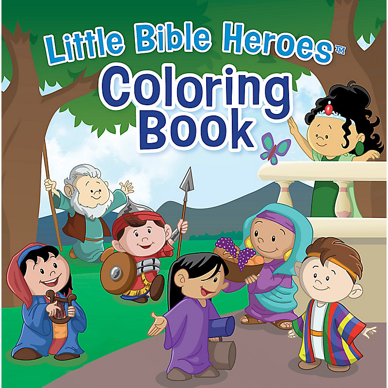 Little Bible Heroes™ Coloring Book