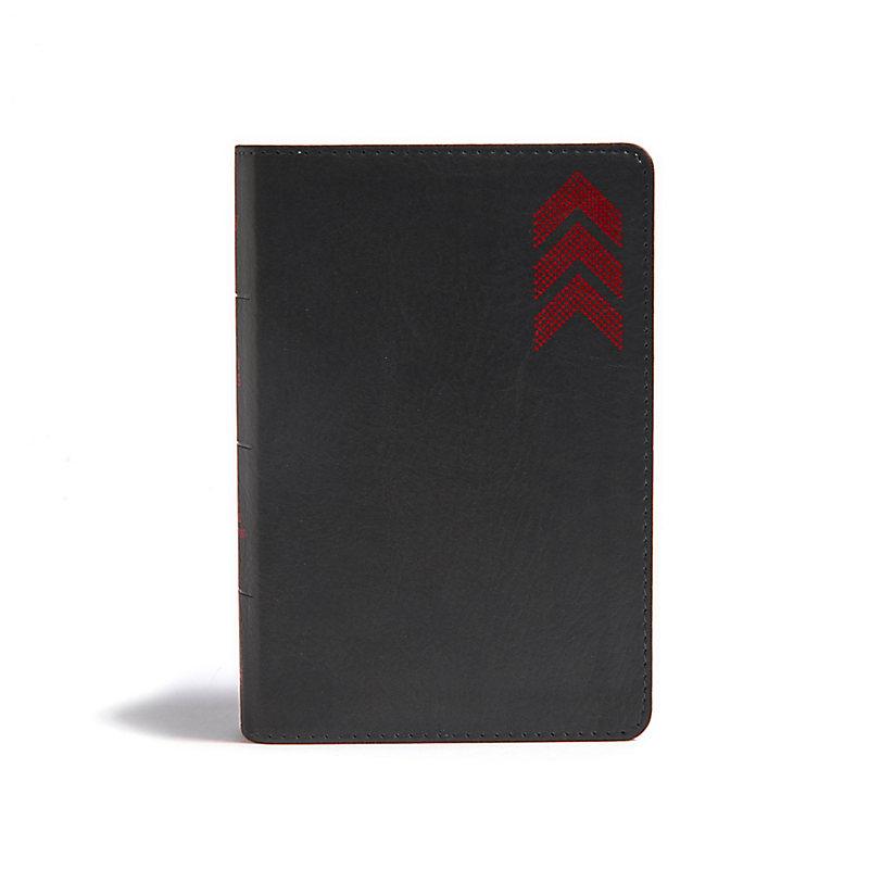 KJV On-the-Go Bible, Charcoal Arrow
