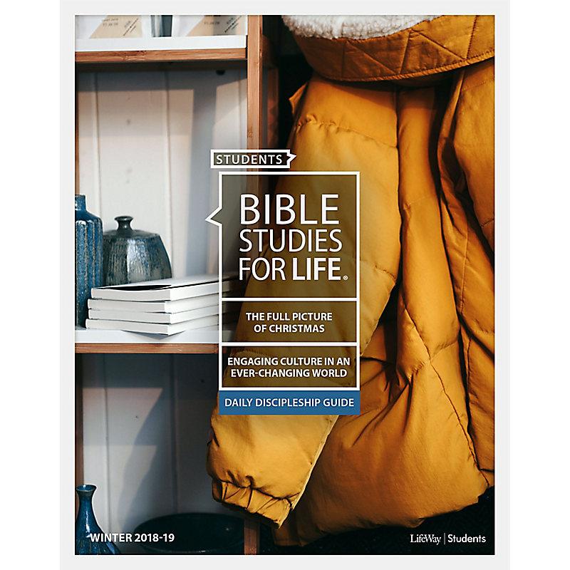 Bible Studies For Life: Student Daily Discipleship Guide KJV Winter 2019