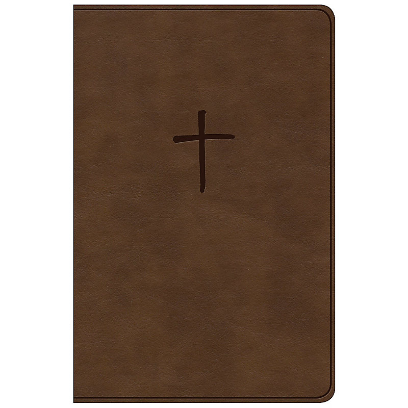 NKJV Compact Bible, Value Edition Brown Leathertouch