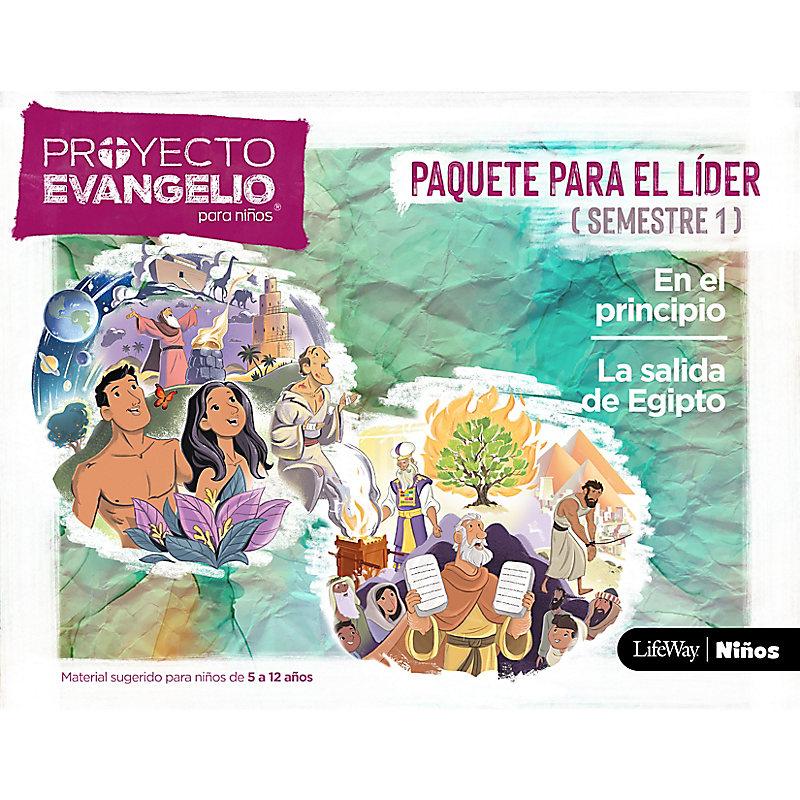 El Proyecto Evangelio para niños Semestre 1 - Paquete para el Líder