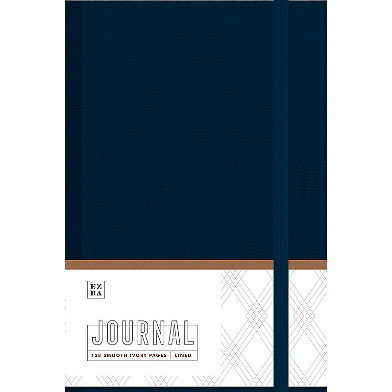 Ezra Journal, Navy Cloth