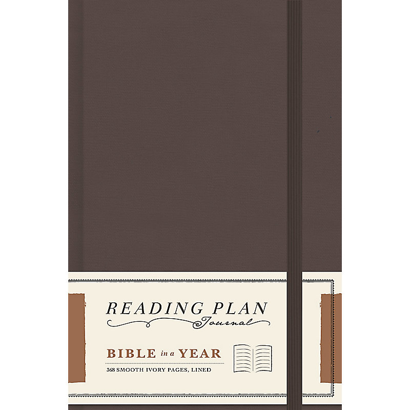 Bible in a Year, Reading Plan Journal