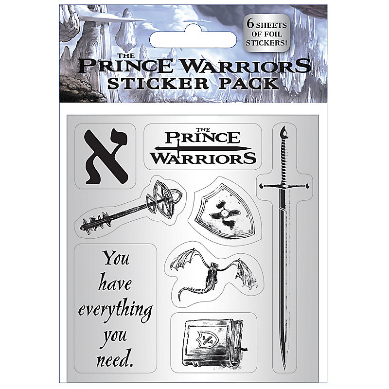 The Prince Warriors Foil Sticker Pack