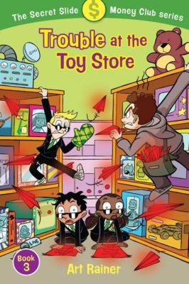 Trouble at the Toy Store book
