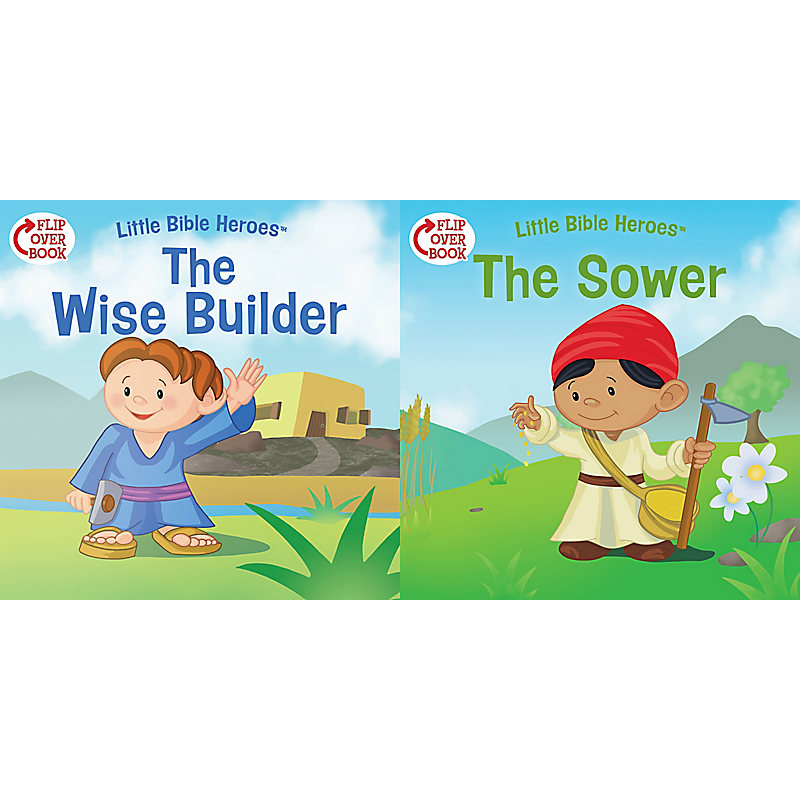 The Wise Builder/The Sower (flip-over)