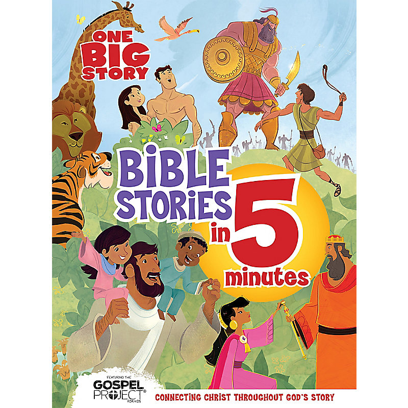 One Big Story Bible Stories in 5 Minutes