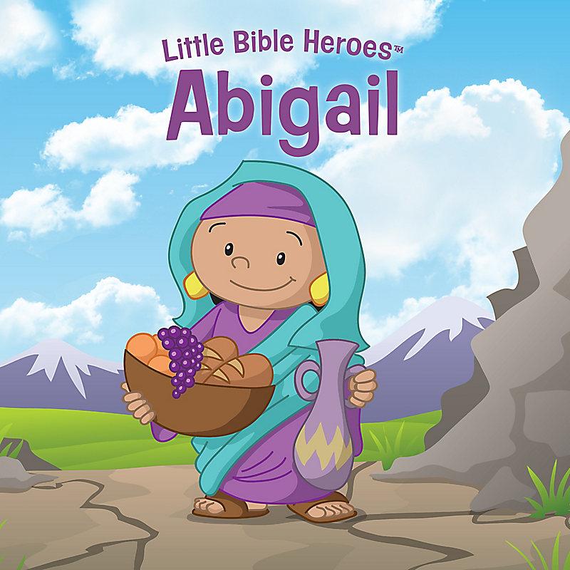 Abigail Little Bible Heroes Board Book