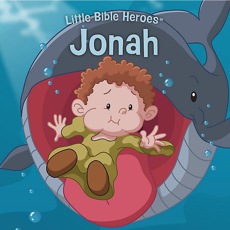 Jonah, Little Bible Heroes Board Book