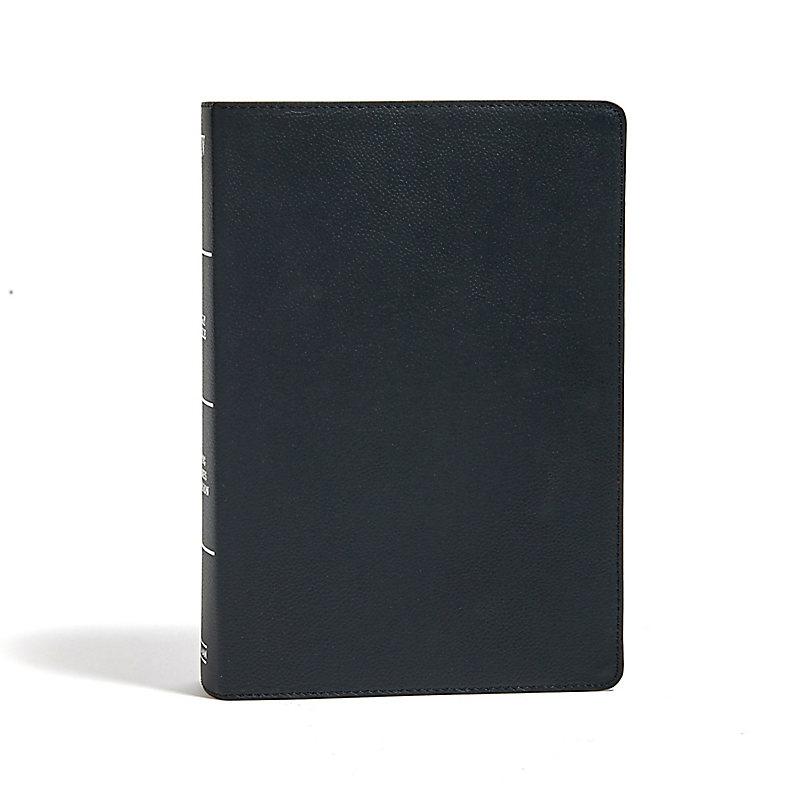KJV Super Giant Print Reference Bible, Black Genuine Leather
