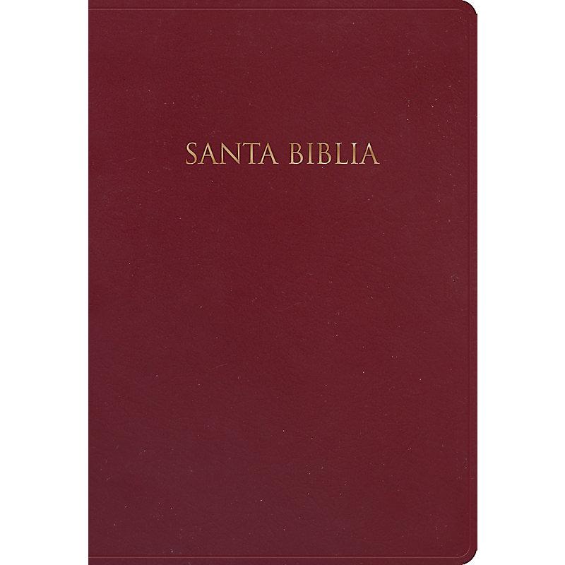NVI Biblia para Regalos y Premios, borgoña imitación piel