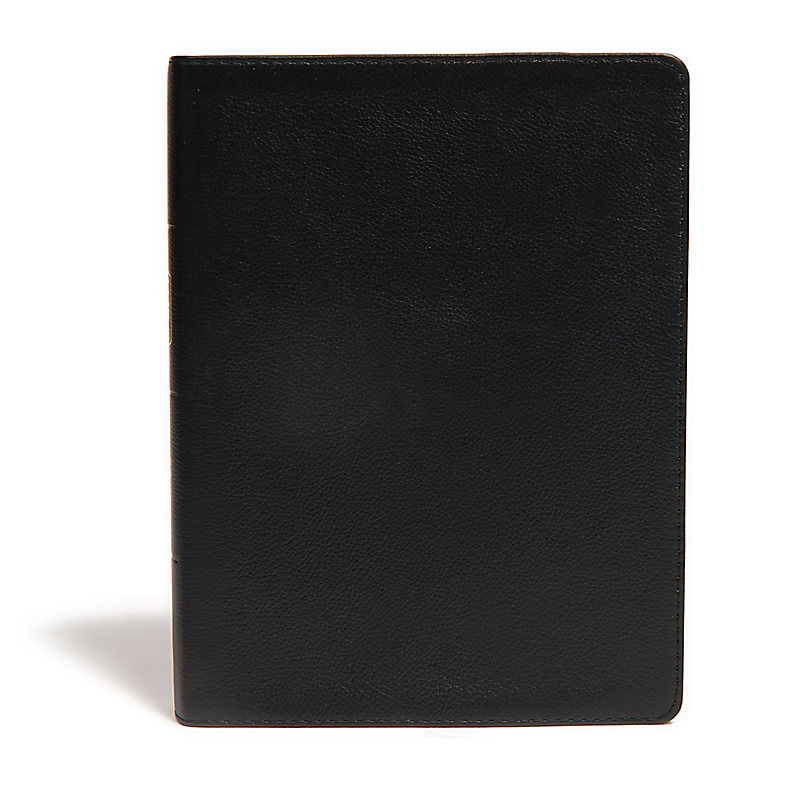 CSB Life Essentials Interactive Study Bible, Black Genuine Leather