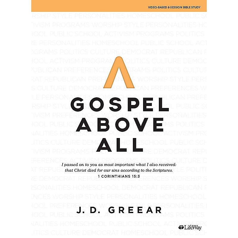 Gospel Above All - Bible Study eBook