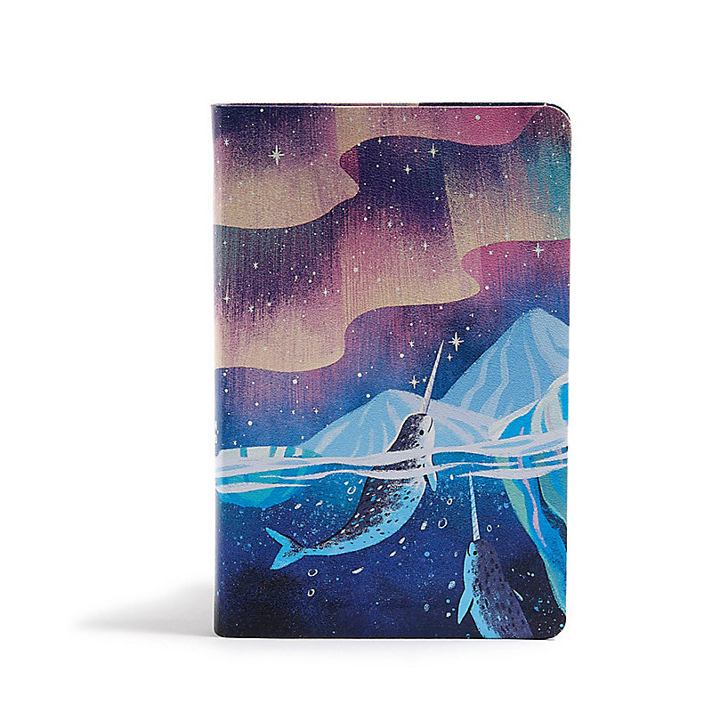 CSB Kids Bible, Narwhal LeatherTouch