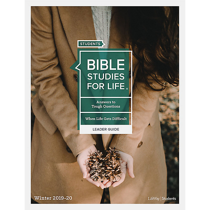 Bible Studies For Life: Student Leader Guide KJV Winter 2020 e-book