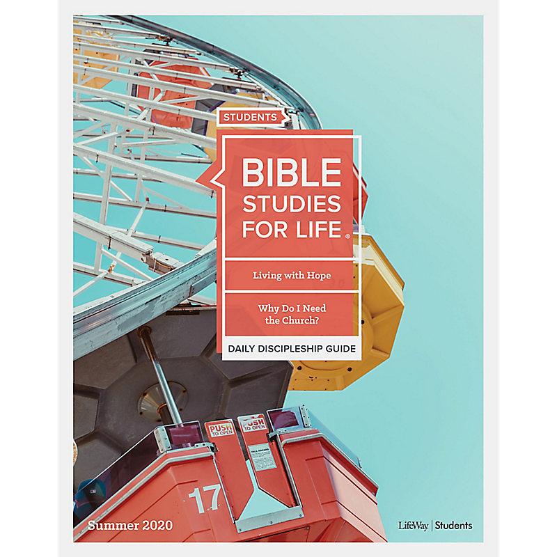 Bible Studies For Life: Students Daily Discipleship Guide KJV Summer 2020