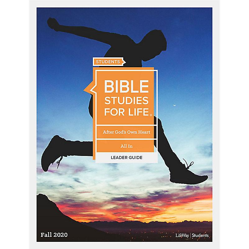 Bible Studies For Life: Student Leader Guide KJV Fall 2020 e-book
