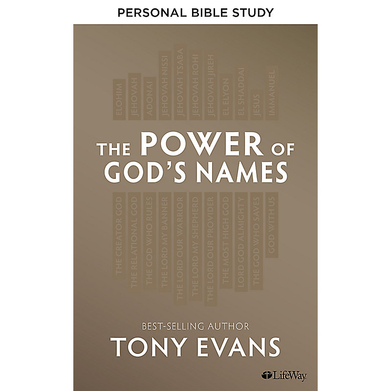 The Power of God's Names - Personal Bible Study eBook