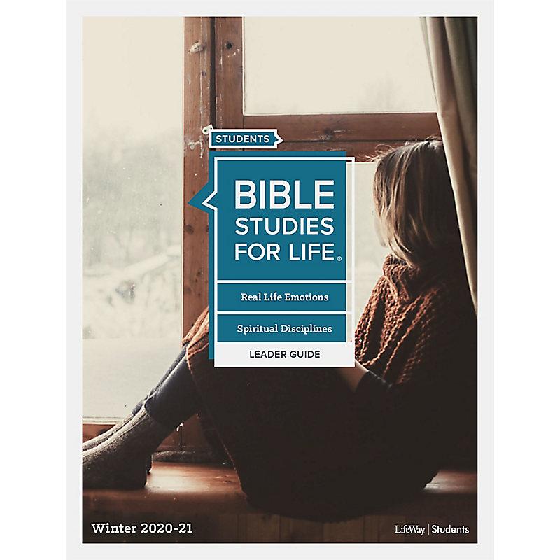 Bible Studies for Life: Students - Leader Guide - ePub - Winter 2020-21 - KJV