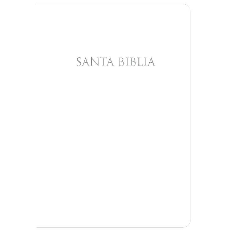 RVR 1960 Biblia para regalos y premios blanco, imitación piel