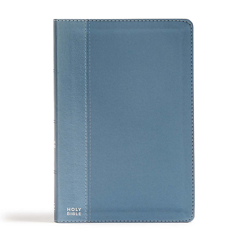 CSB Essential Teen Study Bible, Steel LeatherTouch